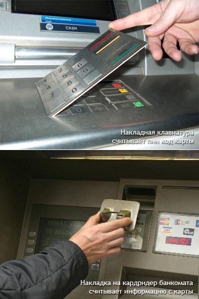 мошенничества с банковскими картами